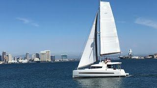 Sailing on the new Bali 4.3 Catamaran in San Diego, CA By: Ian Van Tuyl