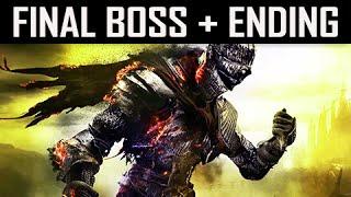 Dark Souls 3 Walkthrough Part 25 - Ending + Final Boss Soul of Cinder  (PC Let