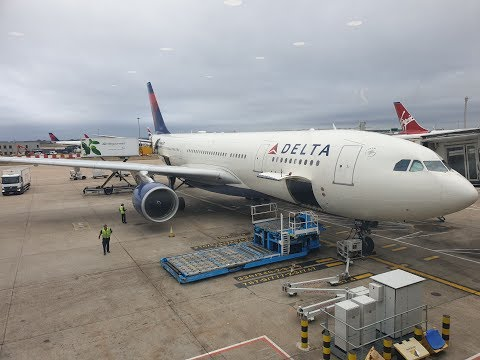 Delta Airline ~ Airbus A330-200 ~ London Heathrow To New York JFK