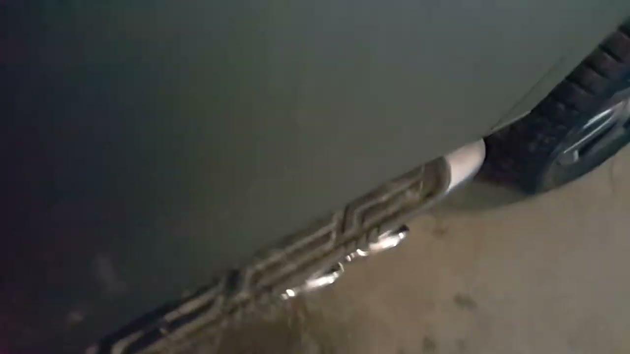 Exhaust system Nissan Patrol Y62