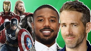 Marvel superheroes join forces in fantasy football league starring Ryan Reynolds, Chris Hemsworth