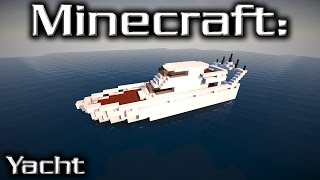 Minecraft: Medium Yacht Tutorial 1
