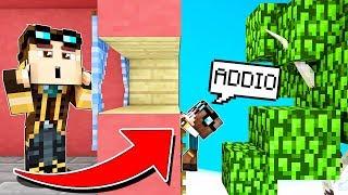 MIO FIGLIO È SCAPPATO DI CASA! - Casa di Minecraft #20
