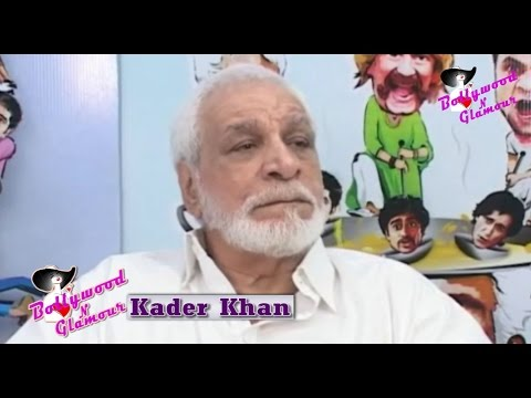 The Last Public Appearance Of Kader Khan In An Exclusive Interview