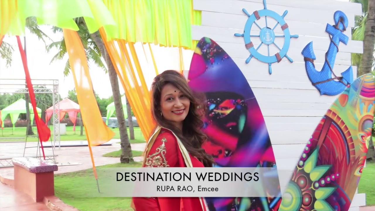 Best Emcee for Destination Weddings| Rupa Rao