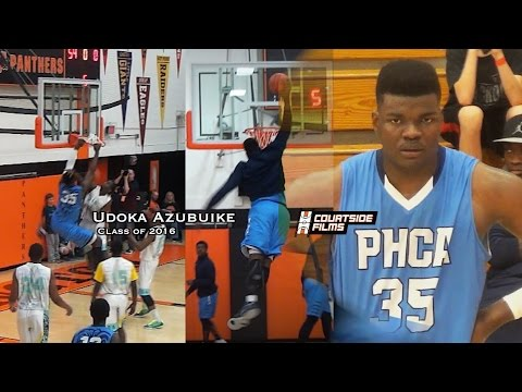 Udoka Azubuike is the Closest Thing to SHAQ in HS Basketball! New Mixtape