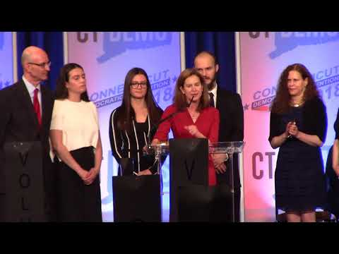 Susan Bysiewicz acceptance speech for Lt. Gov
