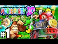 Mario Party 10 Wii U 2 Player PART 1 Mushroom Park VS Mini-Boss Gameplay Walkthrough Nintendo HD