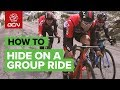 Sneaky Ways To Save Energy On A Group Ride