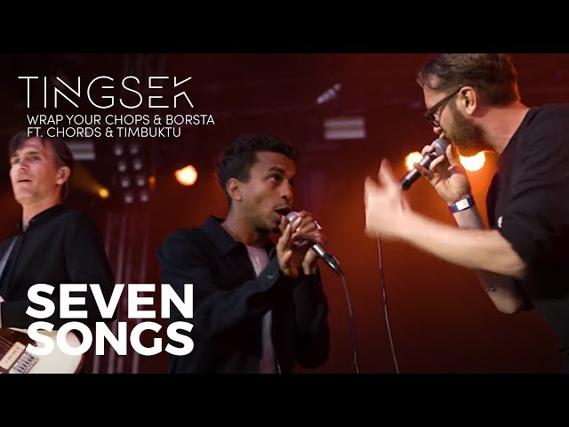 Tingsek - Wrap Your Chops & Borsta feat. Chords & Timbuktu - Live [Seven Songs]