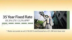 3.2% / 35 Year Fixed Rate Commercial Mortgages In California