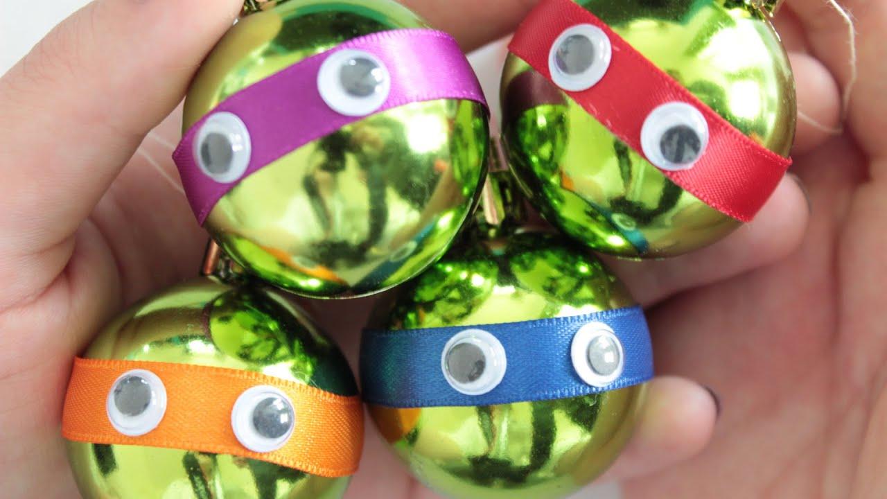 Christbaumkugeln Magenta.Diy Teenage Mutant Ninja Turtles Christbaumkugeln Anielas Fimo