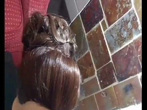 Arabic bridal hairstyle