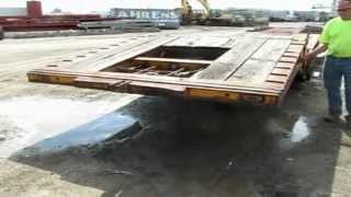 1974 Load King power fold gooseneck trailer for sale | sold at auction October 25, 2012