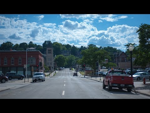 Дабэк / Dubuque, АЙОВА. город на границе трех штатов