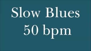 [Drum Loop for Practice] Slow Blues 50 Bpm