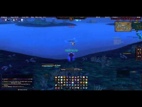 Fishing Problem In Zangarmarsh With Sporefish School