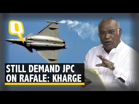 SC Verdict on Rafale | Mallikarjun Kharge: Our Demand For JPC Still Stands