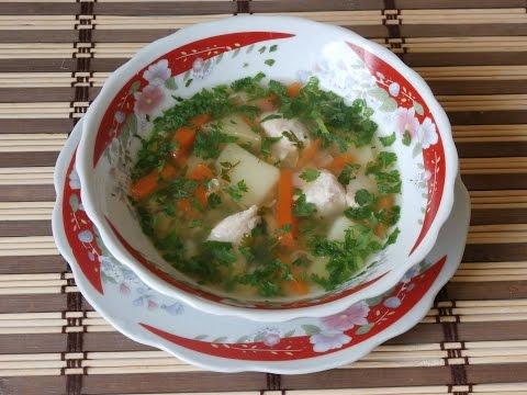 Суп гороховый с копчеными ребрышками в мультиварке панасоник 18