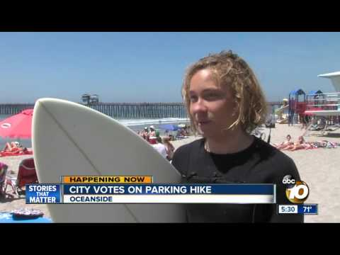 A beach day in Oceanside could cost more money