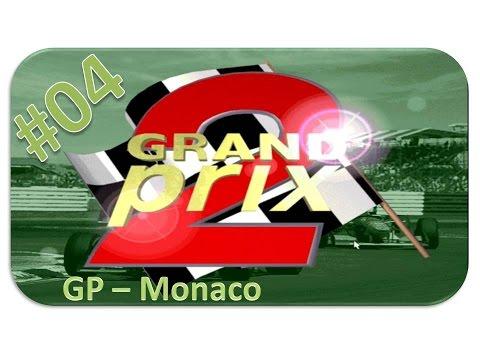 Grand Prix 2 - Rennen #04 Monaco [HD] - Let's Play Grand Prix 2