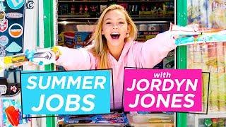 JORDYN JONES ICE CREAM TRUCK CHALLENGE | Summer Jobs w/ Jordyn Jones