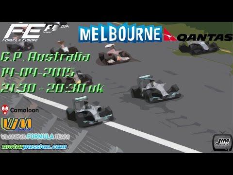 # F.E. 2015 G.P. Australia Formula 1