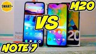 Redmi NOTE 7 Global vs Samsung Galaxy M20 - что выбрать? Батл!