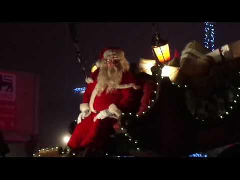 Parade de Noël rtl à la louvière