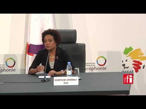 "Michaëlle Jean : ""On ne remplace pas Abdou Diouf, on lui succède!"" - #OIF"