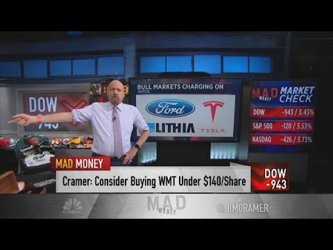 Jim Cramer: Five bull markets to buy on the sell-off