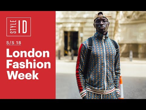 Style ID: London Fashion Week Men's S/S 18