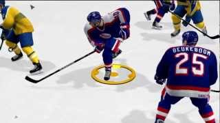 Puck to the Face|NHL 12 Thumbnail