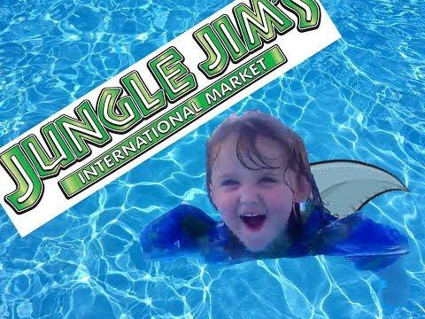 Cincinnati Trip Part 2- Jungle Jim's and swimming with Shark Sophie