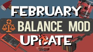 TF2: February Balance Mod Update 2019 - Introducing Engipads, Asia Server and more