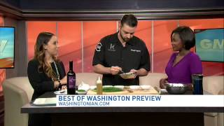 "Preview of Washingtonian's ""Best of DC"" event"