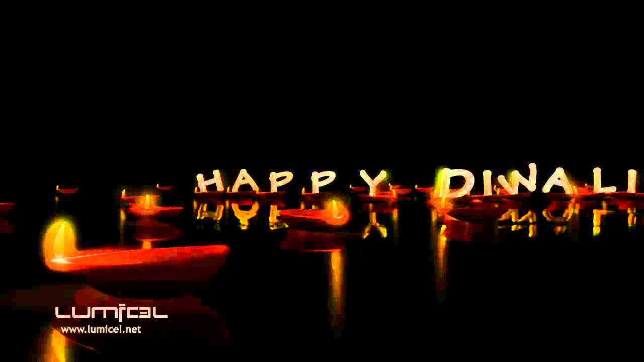 Diwali Festival Of Lights Motion Graphics Animation Video By