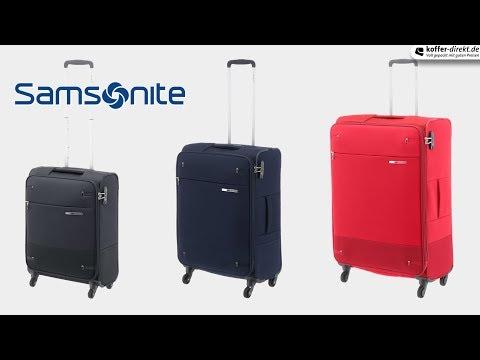 6d14f9fd829 Samsonite Base Boost 4-Rollen-Trolley 66 cm - black - koffer-direkt.de