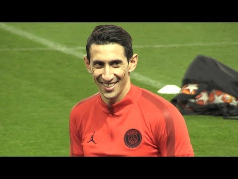 PSG Train At Old Trafford Ahead Of Manchester United Champions League Clash