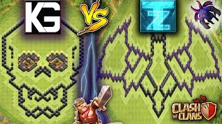 CHallenge - CAN YOU 3 STAR ME? | CLASH OF CLANS | BASE CHALLENGE | YouTuber vs YouTuber