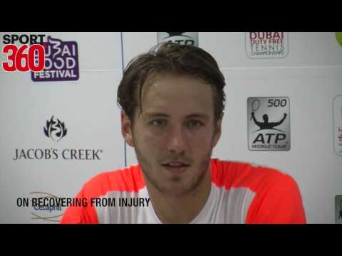 Dubai Duty Free Tennis: Lucas Pouille makes winning start at Aviation Club