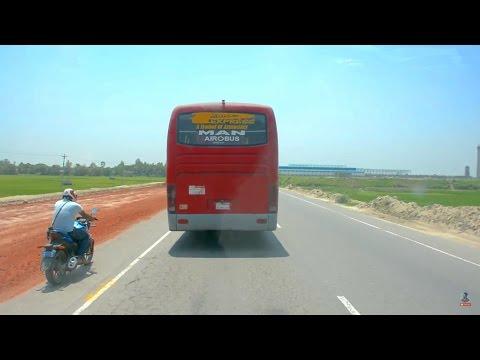 MAN Airobus at DHAKA-TANGAIL Highway || AMAZING HIGHWAY