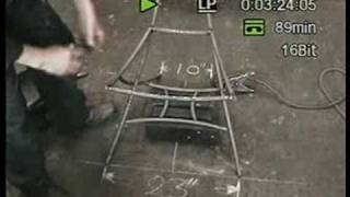 How to make a bespoke wrought iron chair