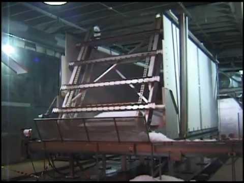 KEITH® WALKING FLOOR® Ice Storage U0026 Conveying System