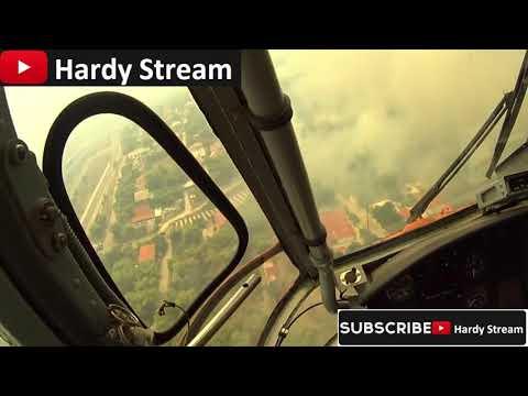Fire fighting in Greece / twin-engine heavy transport Sikorsky S-64 Skycrane