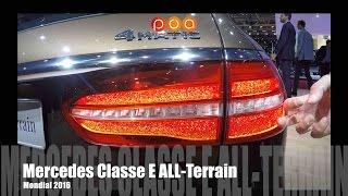Nouvelle Mercedes Classe E All-Terrain 2017 - Mondial de l'Automobile 2016 15/20