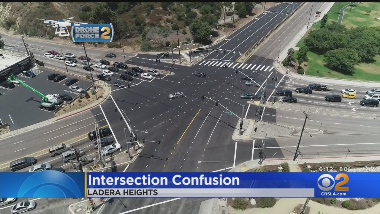 'The Whole Thing Needs To Be Nuked': Drivers Sound Off On Chaotic LA Intersection