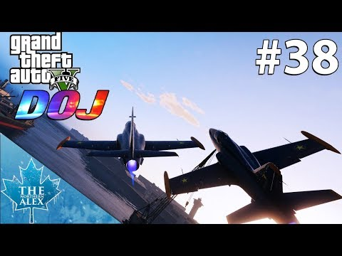 GTA V Department of Justice #39 - Air Shenanigans - Civilian