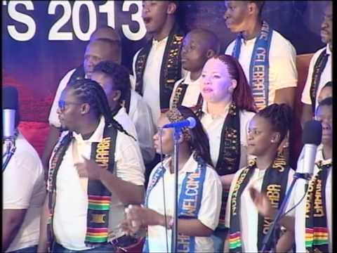 JOYOUS CELEBRATION VISITS ROYALHOUSE CHAPEL(AHENFIE) -COS 2013