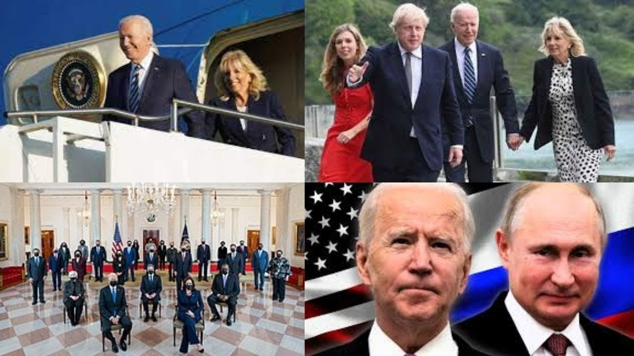 Biden begins 1st official foreign trip with a warning for Russia